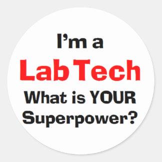 Adesivo tecnologia do laboratório