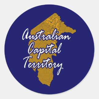 Adesivo Território de capital australiana
