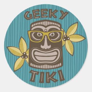 Adesivo Tiki Geeky