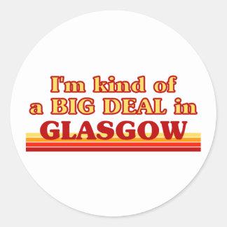 Adesivo Tipo de I´m de uma grande coisa em Glasgow