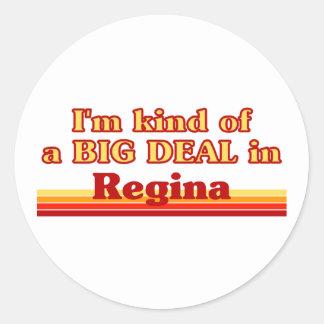 Adesivo Tipo de I'm de uma grande coisa em Regina