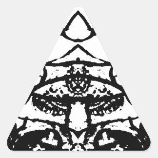 Adesivo Triangular animal