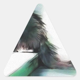 Adesivo Triangular Annie que prepara a maneira