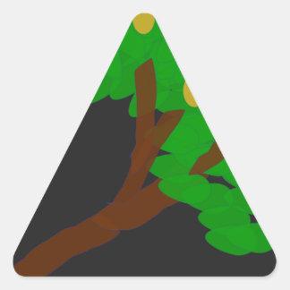 Adesivo Triangular Árvore