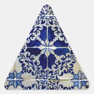 Adesivo Triangular Azulejos, Portuguese Tiles