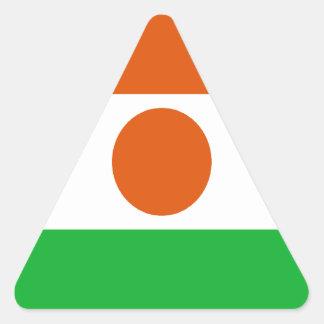 Adesivo Triangular Baixo custo! Bandeira de Niger