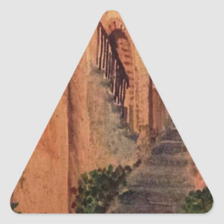 Adesivo Triangular Beco velho