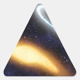 Adesivo Triangular buraco negro