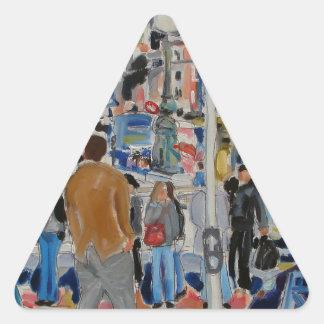 Adesivo Triangular cais Dublin de Asti