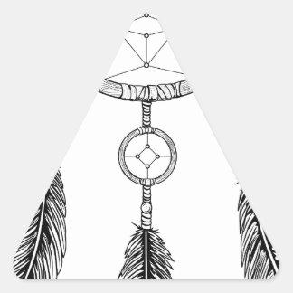 Adesivo Triangular Coletor ideal