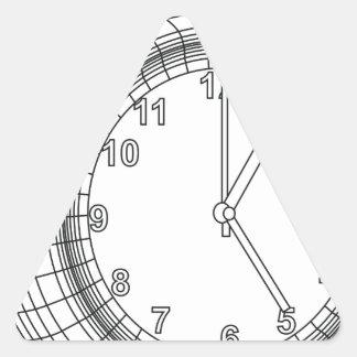 Adesivo Triangular despertador