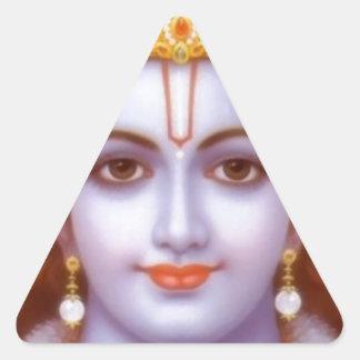 Adesivo Triangular deus do rama