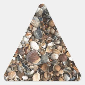Adesivo Triangular Escudos do mar