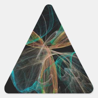 Adesivo Triangular Fantasia do espaço