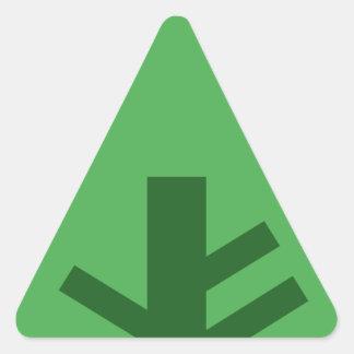 Adesivo Triangular Forrest