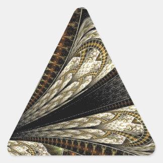 Adesivo Triangular Fractal de Brown