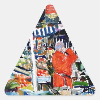Adesivo Triangular fruitnvegstall