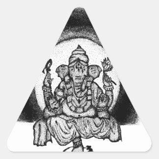 Adesivo Triangular ganesh