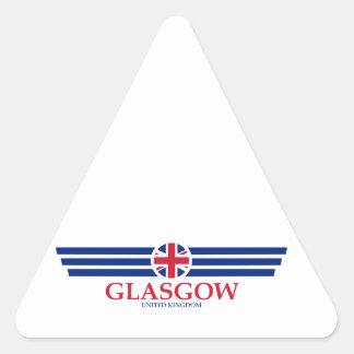 Adesivo Triangular Glasgow