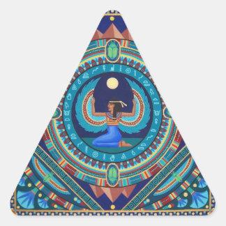 Adesivo Triangular Isis egípcio da deusa