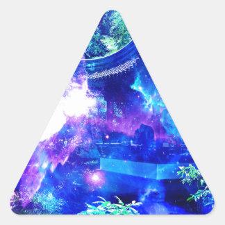 Adesivo Triangular Jardim da serenidade de Amorem Amisi do anúncio