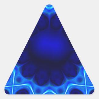 Adesivo Triangular laser azul #3