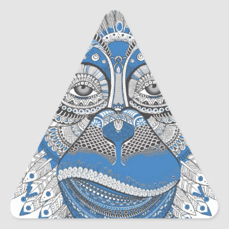 Adesivo Triangular Macaco - universal
