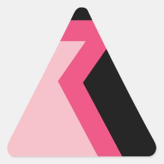 Adesivo Triangular Mamã do quadrado do universo de Steven