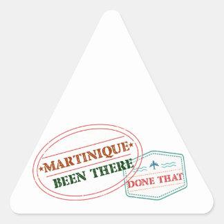 Adesivo Triangular Martinica feito lá isso