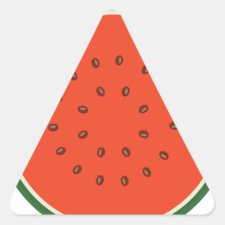 Adesivo Triangular melancia para dentro