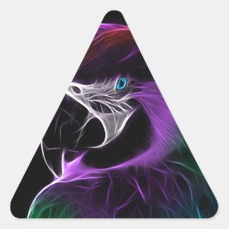 Adesivo Triangular papagaio #2