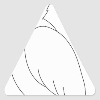 Adesivo Triangular papagaio #3