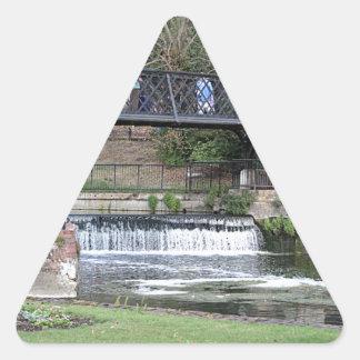 Adesivo Triangular Passadiço do fechamento de Jesus, Cambridge