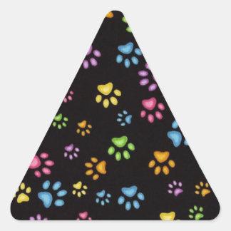 Adesivo Triangular Patas