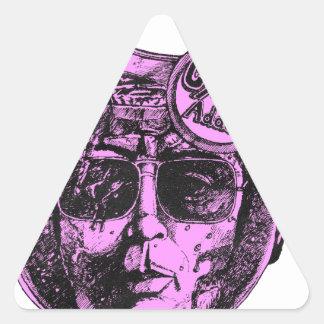 Adesivo Triangular SUICÍDIO do jarro do auxílio de Jim Jones Kool em
