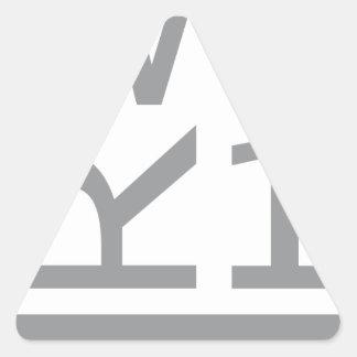 ADESIVO TRIANGULAR T-SHIRT WER1
