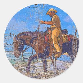 Adesivo Vaqueiro montado