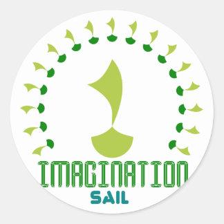 Adesivo vela da imaginação