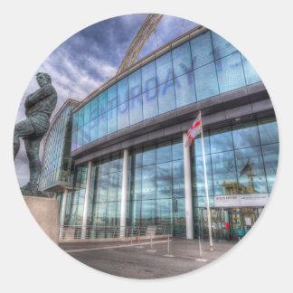 Adesivo Wembley Stadium da estátua de Bobby Moore