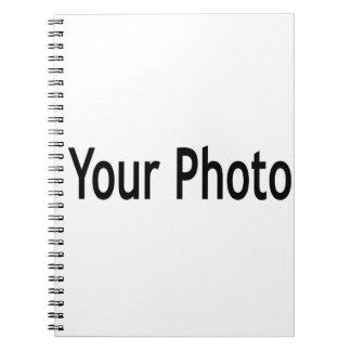 Adicione seu caderno da foto