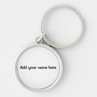 Adicione seu chaveiro do nome aqui