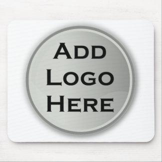 Adicione seu presente incorporado do logotipo mouse pad
