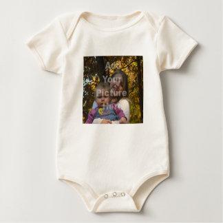 Adicione seu próprio Tshirt do bebê da foto