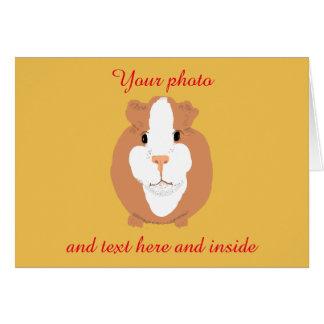Adicione seus fotos e cartão do texto