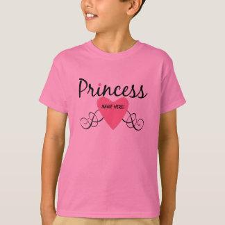 Adicione sua princesa conhecida T-shirt