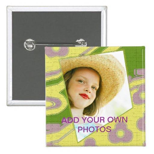 Adicione sua própria foto pins