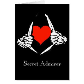Admirador secreto cartoes