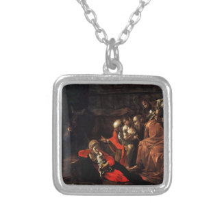 Adoração dos pastores por Caravaggio 1609