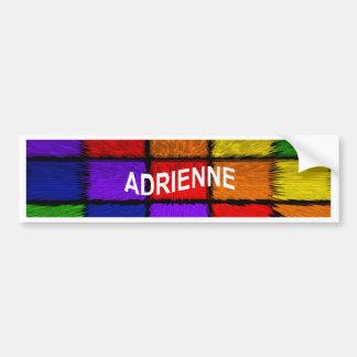 ADRIENNE (nomes fêmeas) Adesivo Para Carro