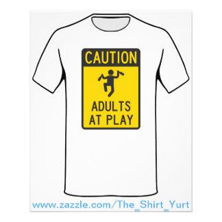 Adultos do cuidado no jogo panfletos